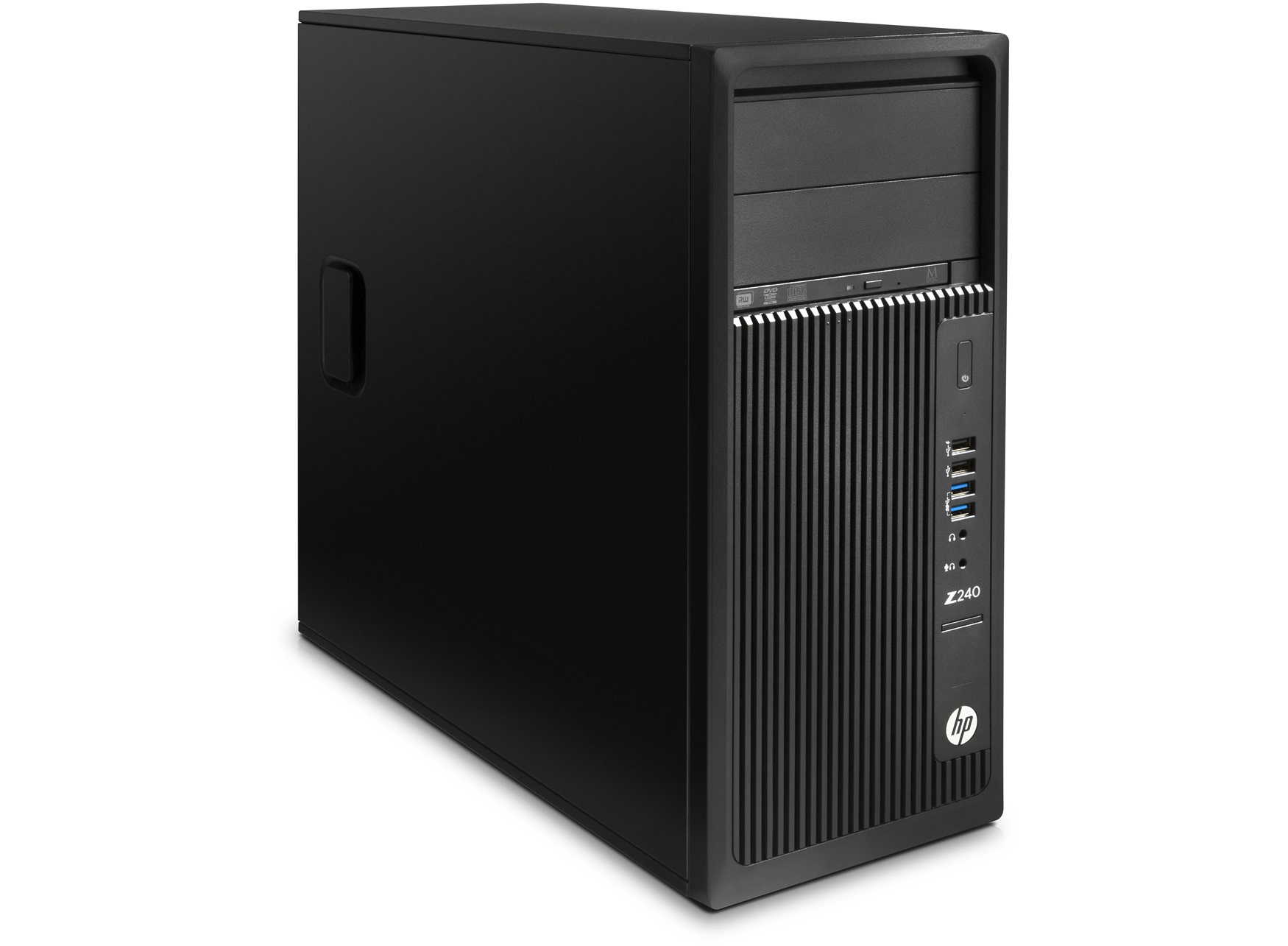 HP Z240 TWR Intel i7-6700 3.4GHz/8GB DDR4-2133 nECC (2x4GB)/256GB SSD/Intel HD GFX 530/Win 10 Pro + Win 7 Pro
