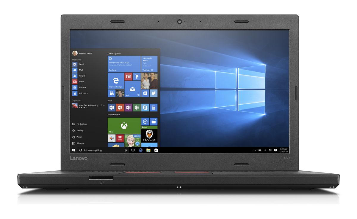"Lenovo ThinkPad L460 i5-6200U/8GB/256GB SSD/HD Graphics 520/14""FHD IPS/4G/W7PRO+W10PRO/Black"