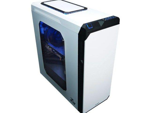 Zalman počítačová skříň Z9 NEO bílá Midi Tower (USB 3.0, bez zdroje)