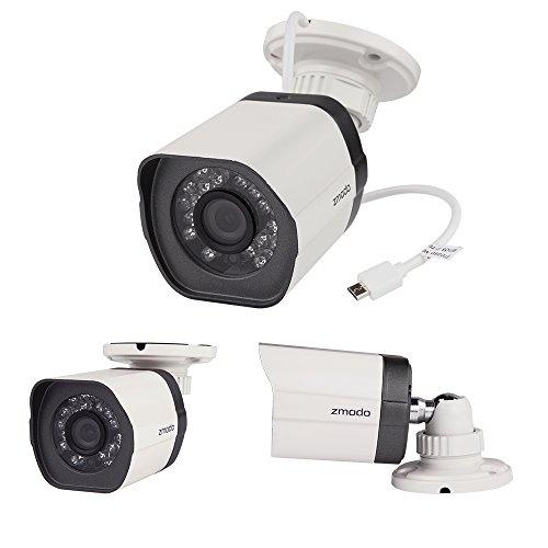 ZMODO kamera ZM-SS78D001-S, sPOE, 720P, IR, bílá