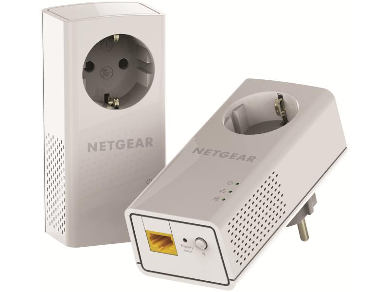 NETGEAR 2PT GIG PWLNE 1200 PASSTHRU BNDL, PLP1200