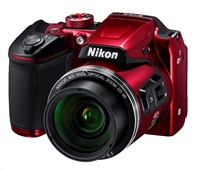 NIKON COOLPIX B500 - 16 MP, 40x zoom VR - Red