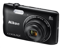 NIKON COOLPIX A300 - 20,1 MP, 8x zoom VR - Black