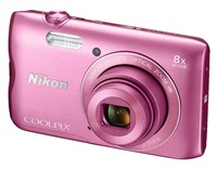 NIKON COOLPIX A300 - 20,1 MP, 8x zoom VR - Pink