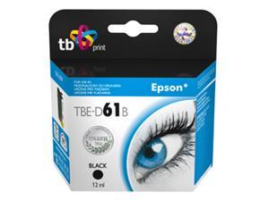 Ink. kazeta TB kompatibilní s Epson T0611 Black