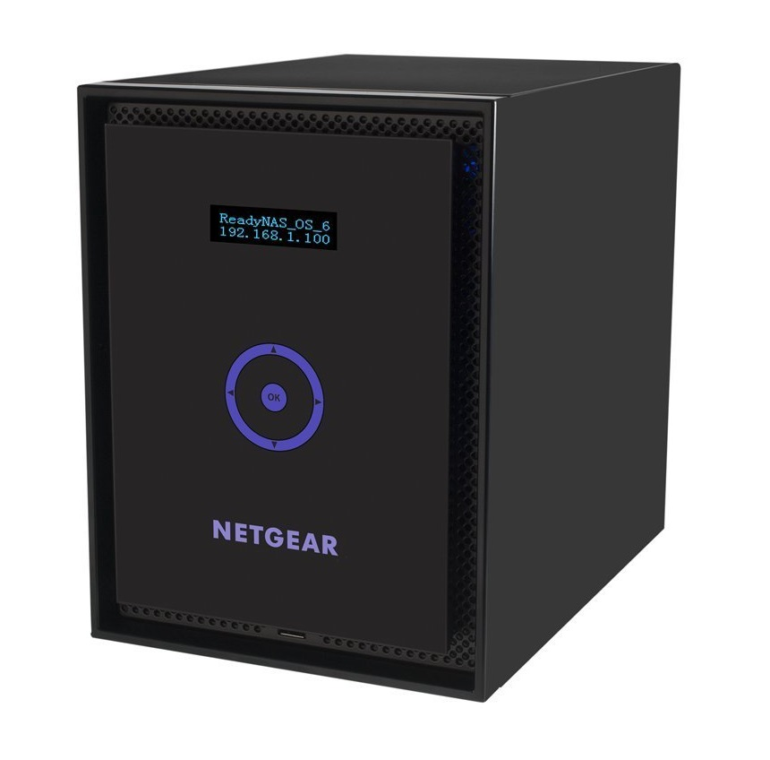 NETGEAR 316 (6 bay, bez disků), RN31600-100EUS