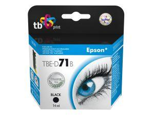 Ink. kazeta TB kompatibilní s Epson T0711 Black