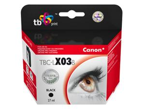 Ink. kazeta TB kompat. s Canon BX-03 Black
