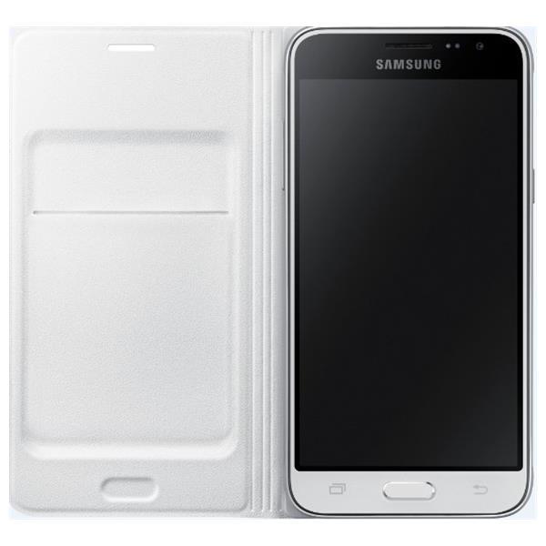 Samsung flip. pouzdro s kaps. pro Galaxy J3, bílá