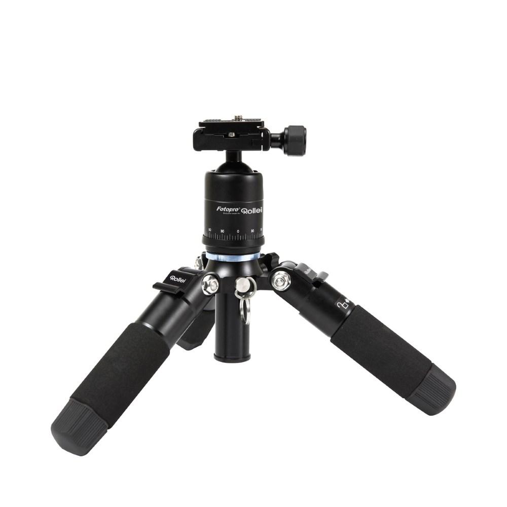 Rollei Fotopro Mini M-1/ Zátěž 8kg/ Vytažený 41 cm/ Vhodný pro focení Makro