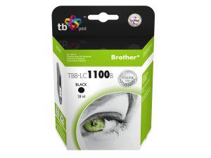 Ink. kazeta TB kompat. s Brother LC1100B 100% N