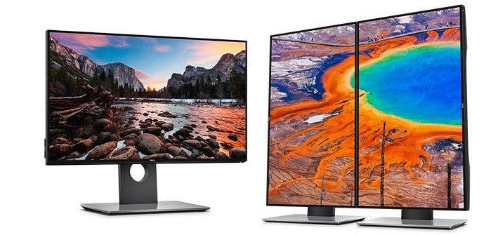 """24"""" LCD Dell U2417H UltraSharp InfinityEdge IPS FHD 16:9/HDMI/MHL/DP/mDP/USB/3RNBD/Černý"""
