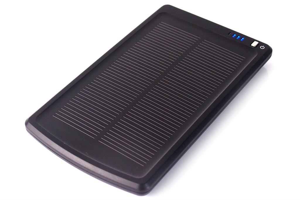 PowerNeed Sunen Power Bank se solárním panelem 1.1W, 3000mAh, černý