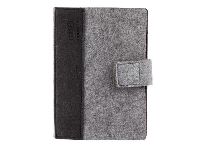 Natec Kindle case Sheep 6'' Grey-black