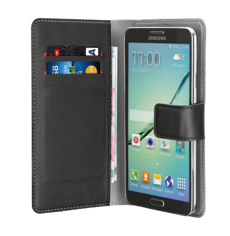 "TRUST Pouzdro na mobil Verso Universal Wallet Case for smartphones up to 4"" - černé"