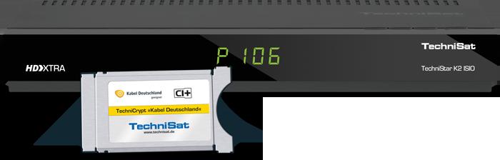 TechniSat ISIO K2 kabelový přijímač