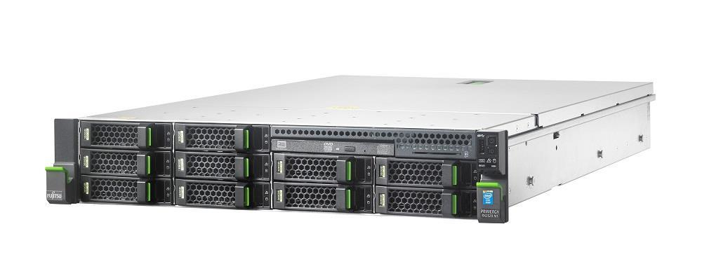 FUJITSU SRV RX2520M1 - E5-2403v2, 8GB, RAID 6G 0-1-10, 8xBAY3.5 H-P, 1RP 450W, RACK 2U