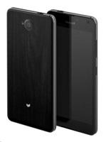 Mozo zadní kryt pro Lumia 650, imitace tmavého dřeva