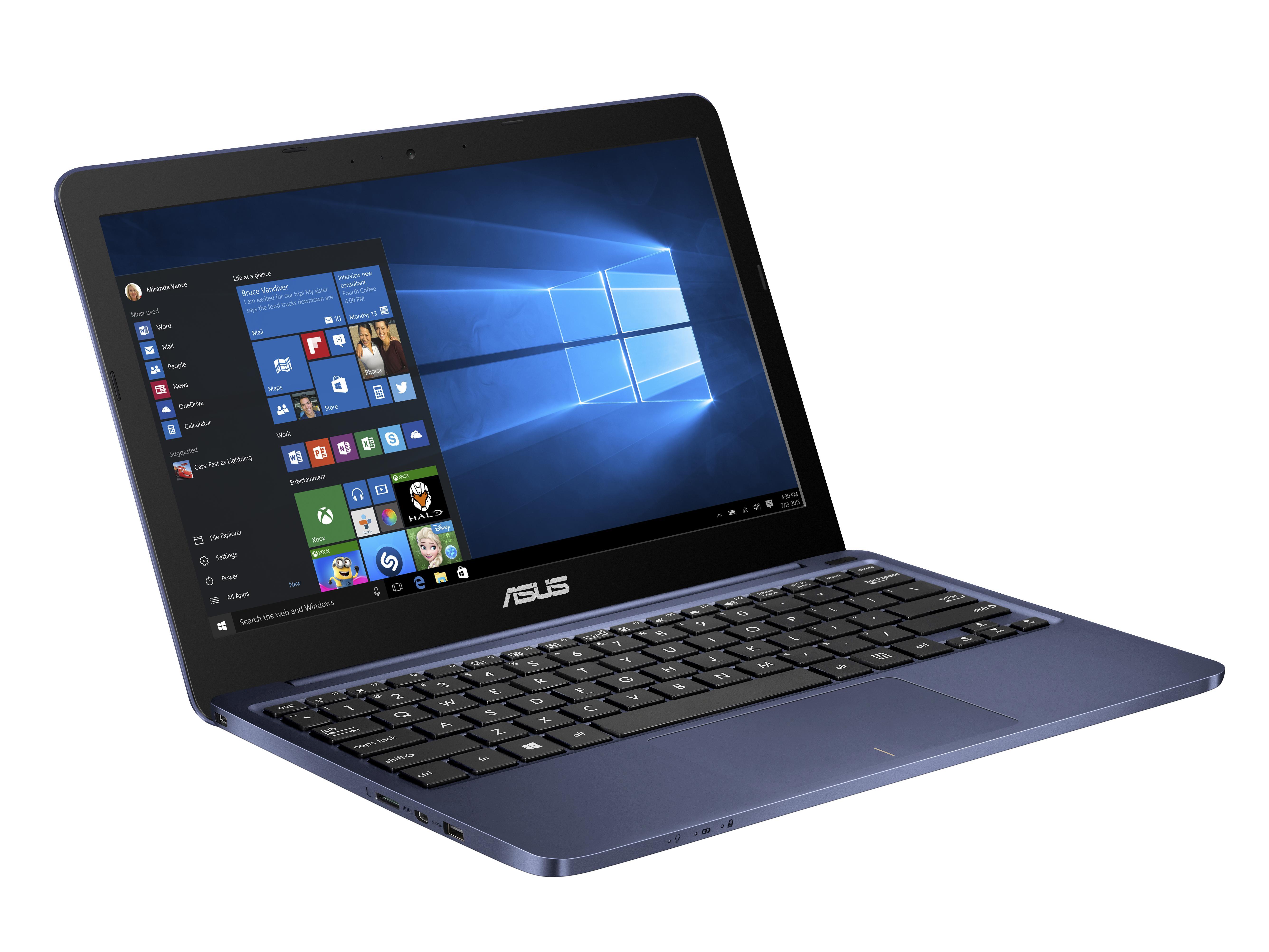 "ASUS E200HA-FD0004TS x5-Z8300/2GB/32G EMMC/11,6"" HD/Win10/modrý"