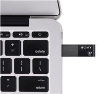 SONY Flash disk USM32WE3 USB 3.1 Kapacita 32 GB. Barva černá
