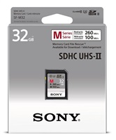 SONY SD karta SF32M, 32GB, class 10, až 260MB/s, pro 4K