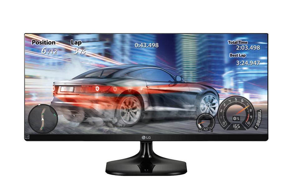 "29"" LG LED 29UM58 - Panorama, 21:9, 2x HDMI, VESA, 5ms"
