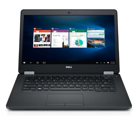 "Dell Latitude E5470 14"" HD i5-6300U/4GB/500GB/Intel HD/USB/HDMI/VGA/RJ45/FPR/W7+W10P/3RNBD/Černý"