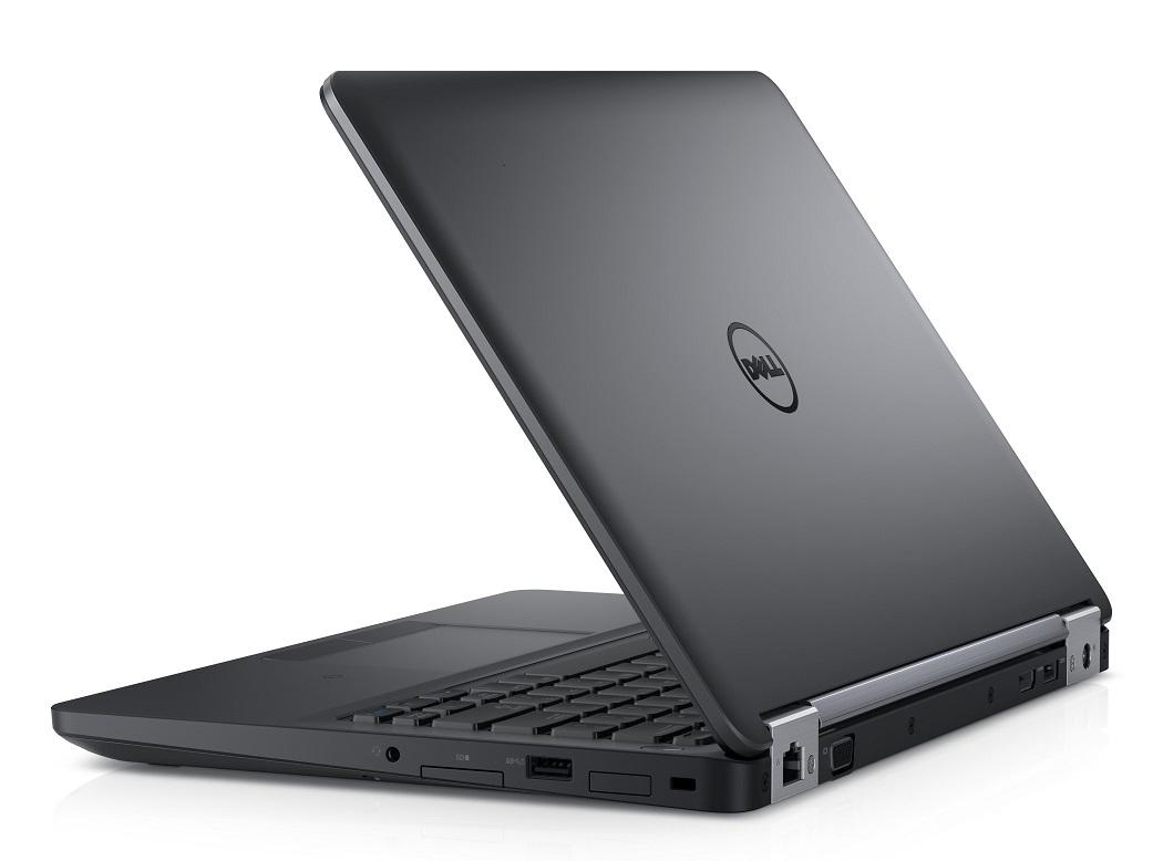 """Dell Latitude E5270 12.5"""" HD i5-6300U/8GB/256SSD/Intel HD/HDMI/VGA/USB/RJ45/WIFI/BT/W7+10/3NBD/Černý"""