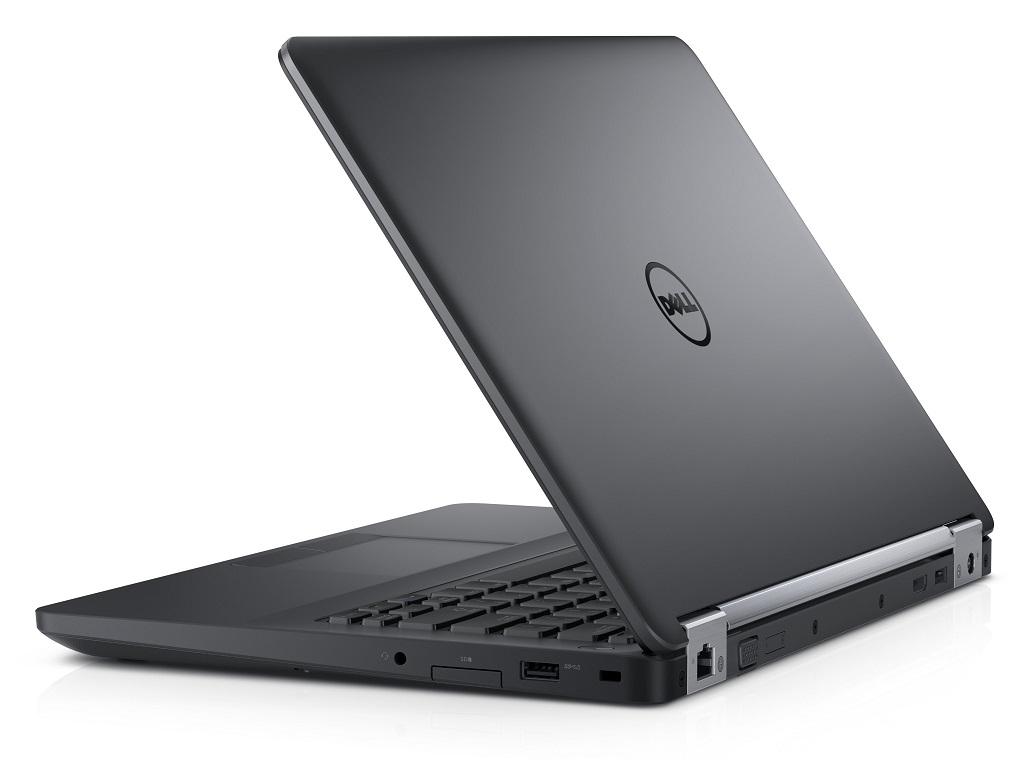 """Dell Latitude E5470 14"""" HD i5-6300U/4GB/500GB/Intel HD/USB/HDMI/VGA/RJ45/FPR/W7+W10P/3RNBD/Černý"""