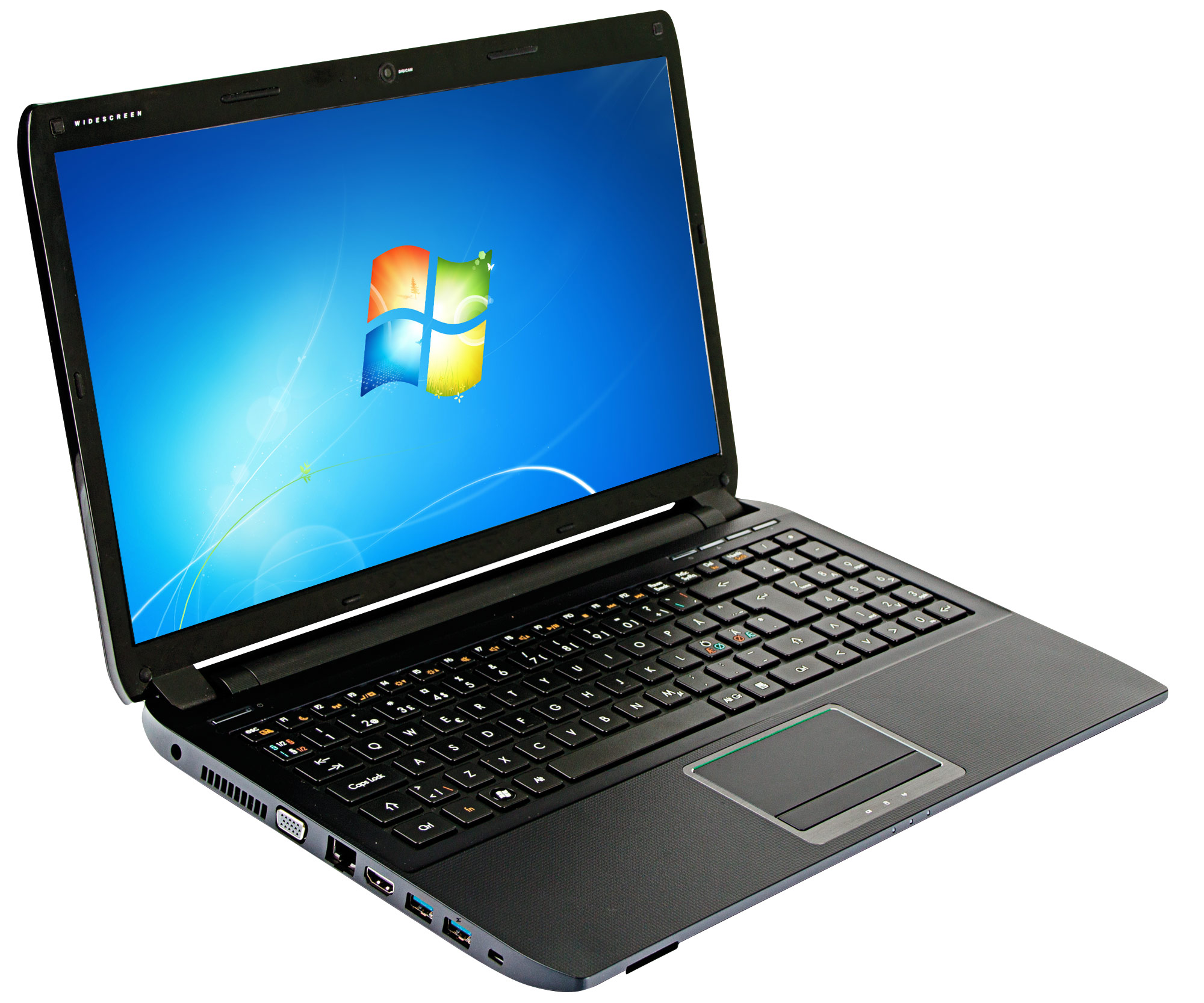 "Notebook Abook 520 15,4"" Intel B950/2GB/120GB/Win7"