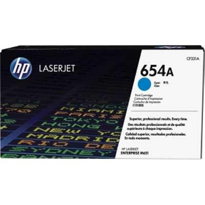 HP 654A - azurový Contract Toner, CF331AC