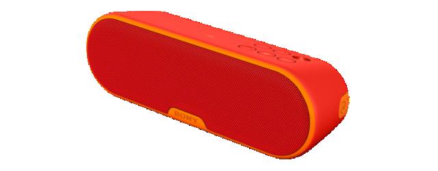 Sony bezdr. reproduktor SRS-XB2 ,BT/NFC,červený