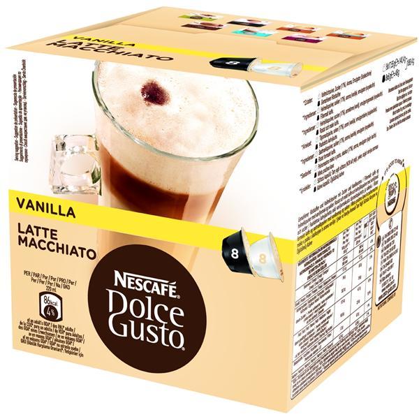 Kapsle NESCAFÉ® Vanilla 16 ks k Dolce Gusto™