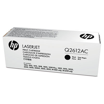 Toner HP black | 2000pgs | LaserJet1010/1012/1015/1020 | contract