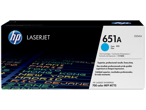 HP azurový Contract Toner, CE341AC